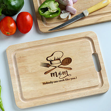 chopping board for mom:Personalised Chopping boards