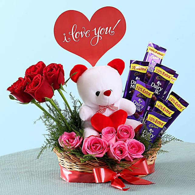 Romantic Surprise Basket