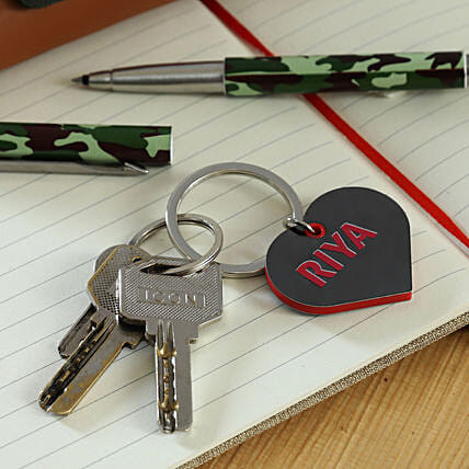 personalised keychain for her online:Personalised Keychains
