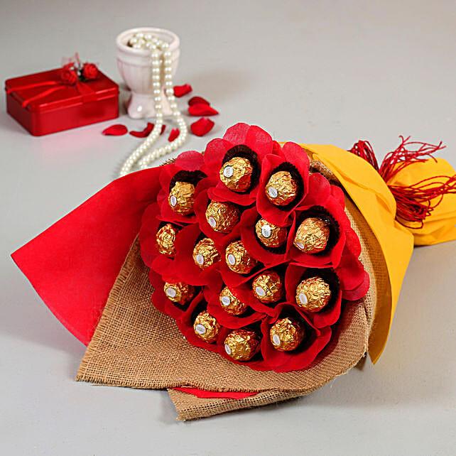 Lovely Ferrero Rocher Chocolate Bouquet