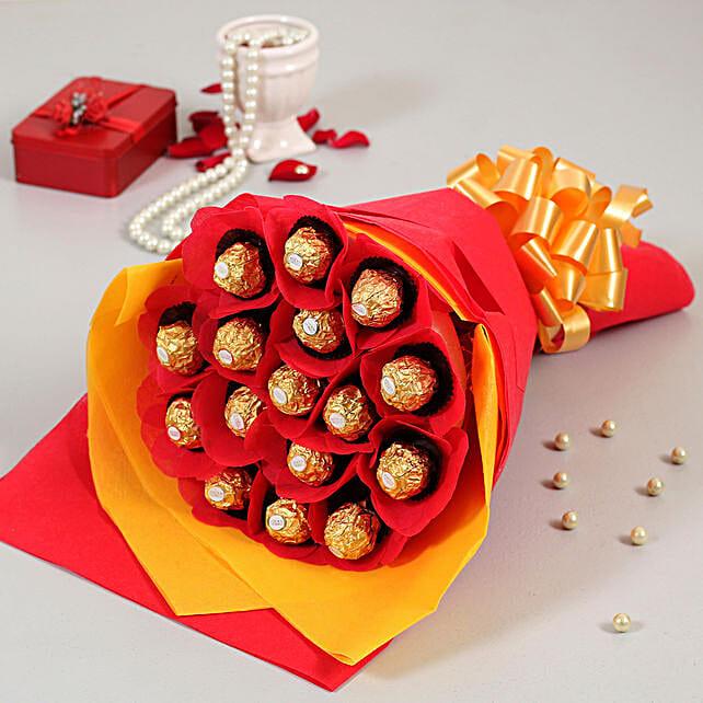 bouquet of forrero rocher online:Buy Secret Santa Gifts