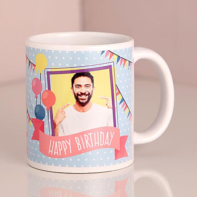 birthday personalised mug for him:Send Personalised Mugs to Delhi