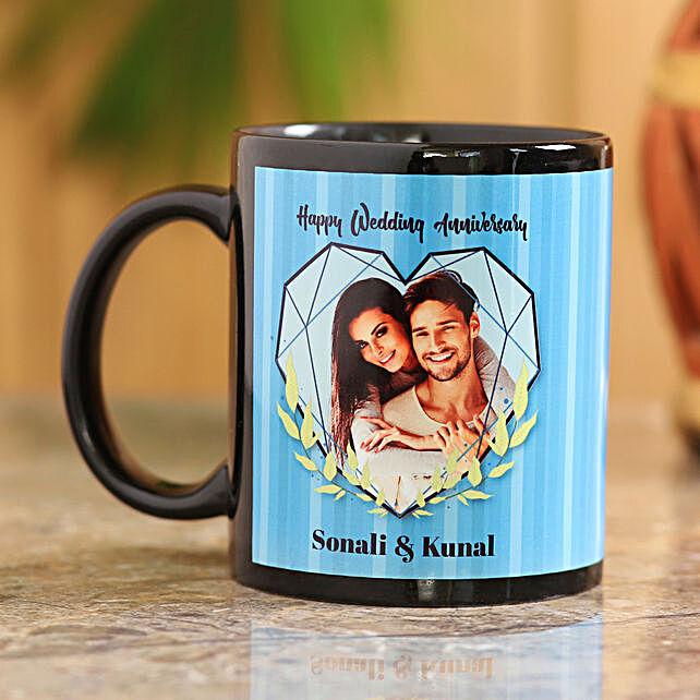 Wedding Anniversary Personalised Mug
