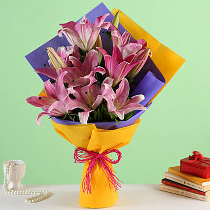 Online Pink Lilies