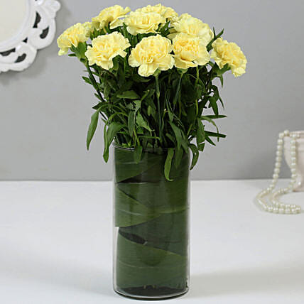 Online Yellow Carnations