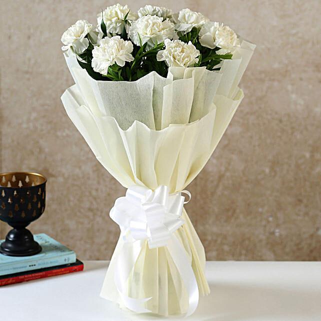 Send Online Carnations Bouquet
