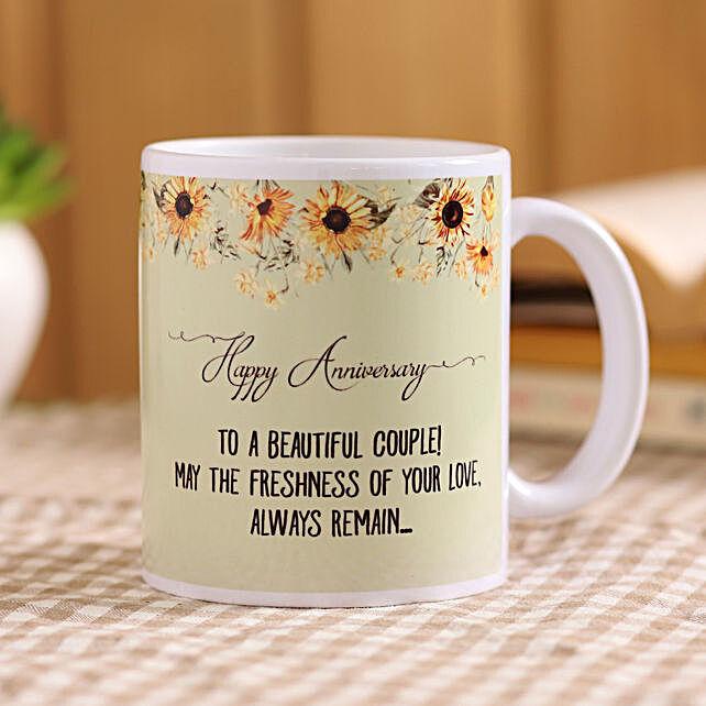 Beautiful Couple Anniversary Mug