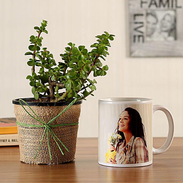 birthday mug for jade plant online:Plants N Personalised Gifts