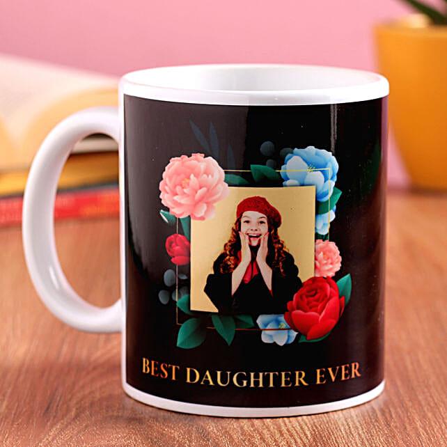 Best Daughter Personalised Mug