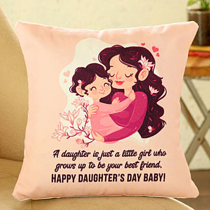 Mother Daughter Cushion