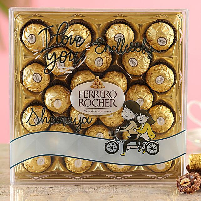 Endless Love Ferrero Rocher Box:Nuts Chocolates
