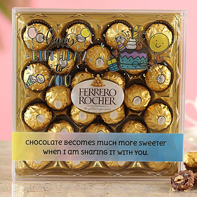 Special Birthday Ferrero Rocher Box