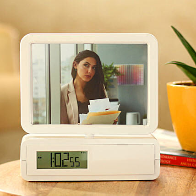 rotating frame clock online:Thank You Photo Frames