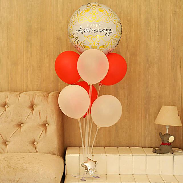 Classy Anniversary Balloon Bouquet