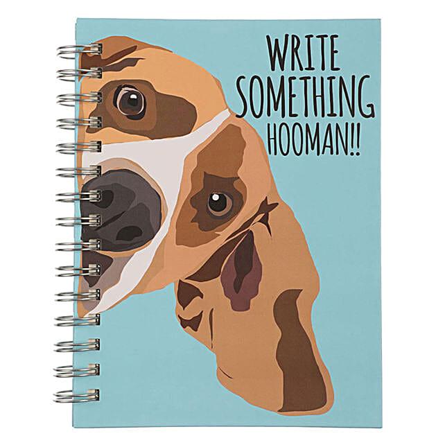 Online Pet Dog Spiral Notebook