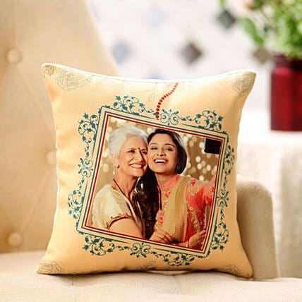 Framed In Cushion Hand Delivery