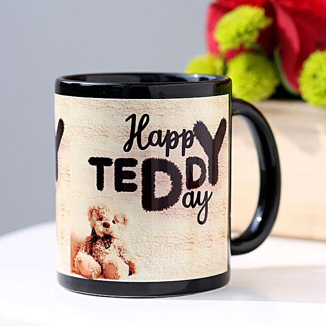 Happy Teddy Day Mug Hand Delivery