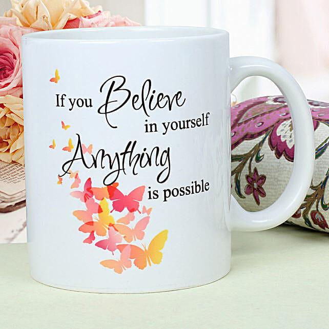 Womens Day Ceramic Mug Hand Delivery