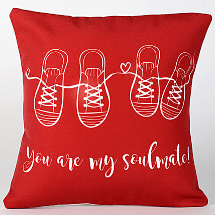 You Are My Soulmate Cushion Hand Delivery