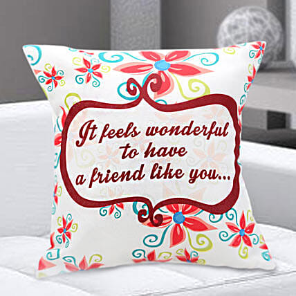 Floral Cushion Hand Delivery