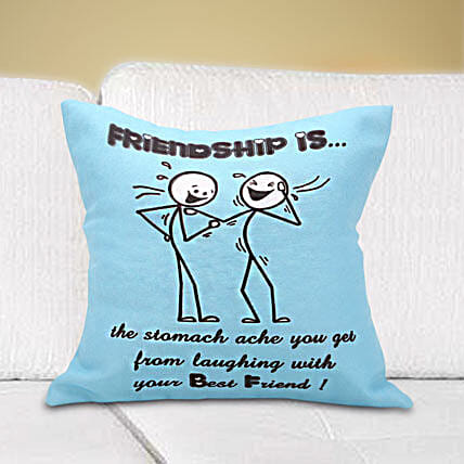 For The Funny Friend Cushion Hand Delivery