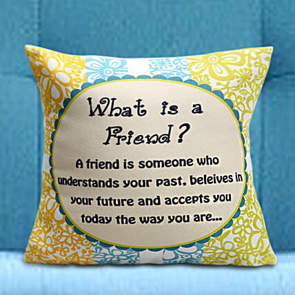 Gorgeous Cushion For Friend Hand Delivery