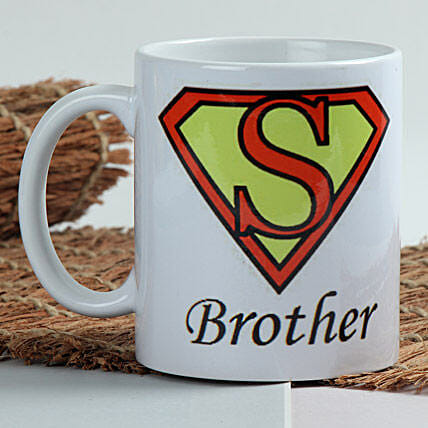 Sizzle With Superman Mug Hand Delivery