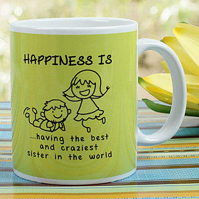 Sibling Love Mug Hand Delivery