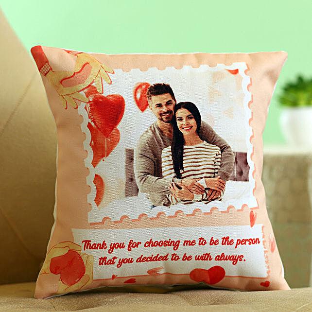 personalised cushion for karwa chauth