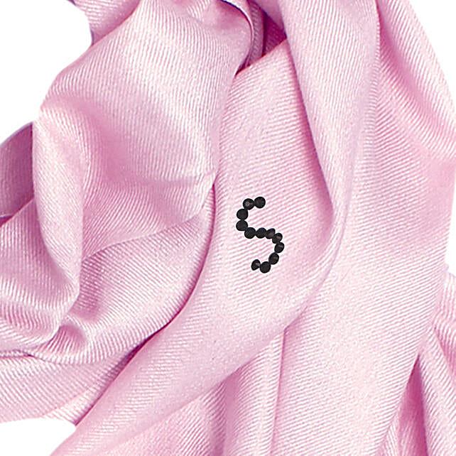 Online Blushing Pink Customised Pashmina