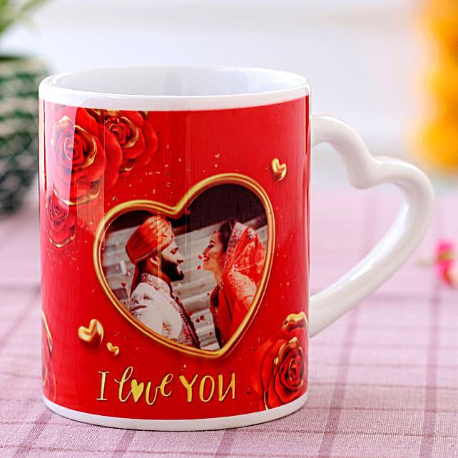 photo coffee mug for karwa chauth
