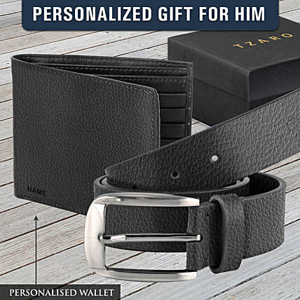wallet n belt personalised combo online