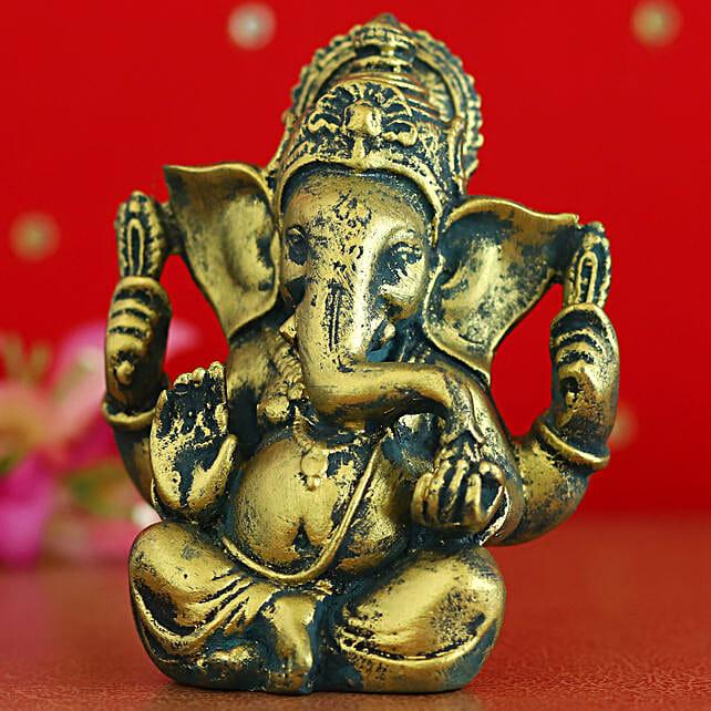 Antique Raja Ganesha Idol