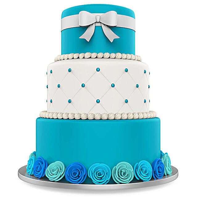 blue tier cake online