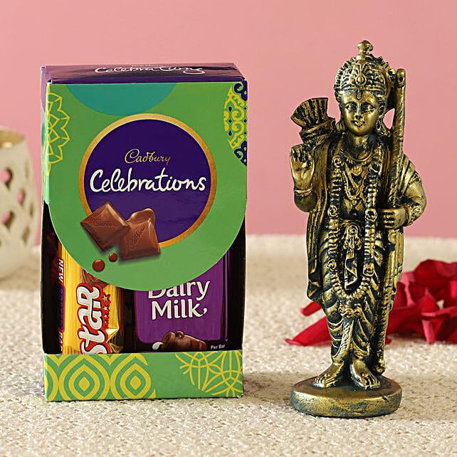 Antique Ram Idol & Cadbury Combo