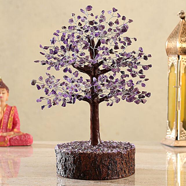 Magnificent Amethyst Wish Tree:Send Wish Trees