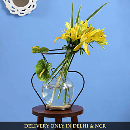 flower with stand online