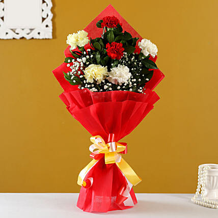 Buy Online Mixed Carnations