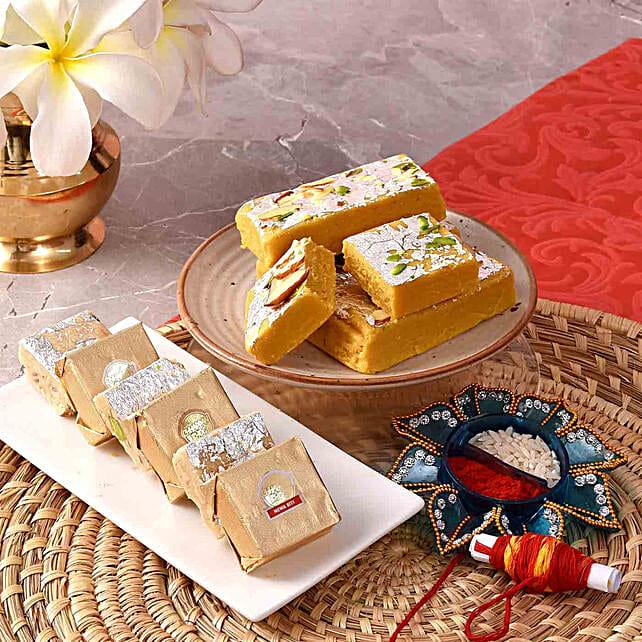 Mewa Batisa & Mewa Bites With Teeka:Chhappan Bhog Sweets