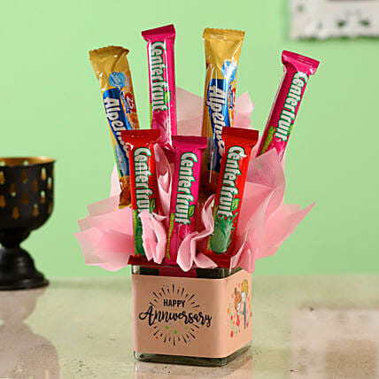 candy fantasy bouquet