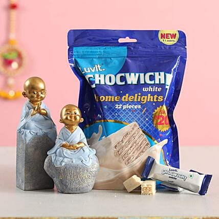 monk set chocwich combo