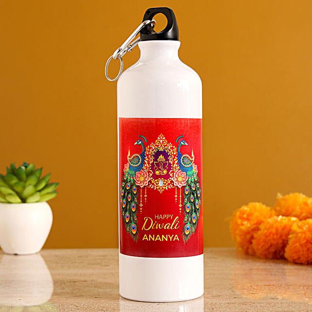 online personalised bottle for diwali