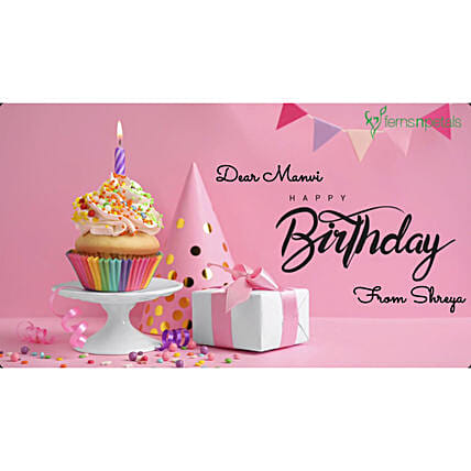 Happy Birthday Little Girl Personalised Video:Personalised Video Messages