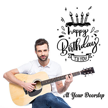 Birthday Special Songs by Guitarist:New Arrival-digital-gifts