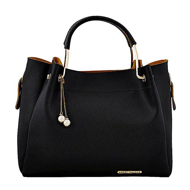 Stylish Bagsy Malone Black Hand Bag