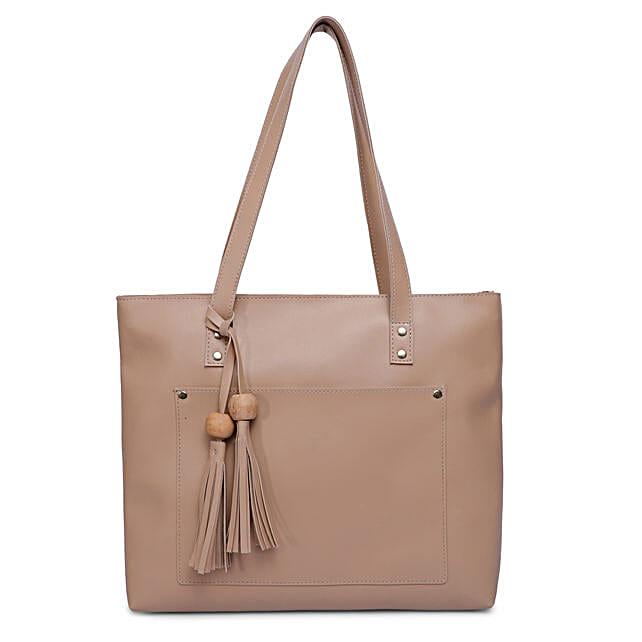 Bagsy Malone Women's Tote Bag- Beige