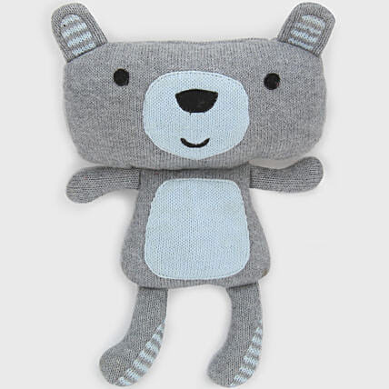 Online Sky Blue And Teddy Soft Toy