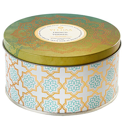 Veedaa French Vermeil Scented Candle Tin