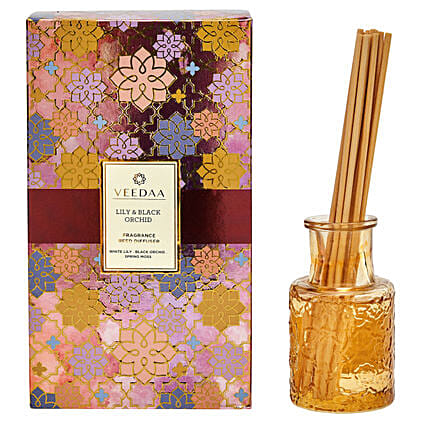Veedaa Lily Black Orchid Classic Reed Diffuser