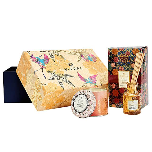 Veedaa Wild Violet Lavender Scented Gift Set